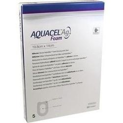 Abbildung von Aquacel Ag Foam Adhäsiv Ferse 19.8x14cm  Verband
