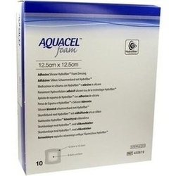 Abbildung von Aquacel Foam Adhäsiv 12.5x12.5cm  Verband