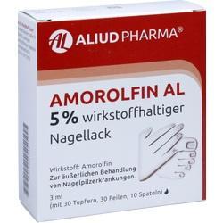 Abbildung von Amorolfin Al 5 % Wirkstoffhaltiger Nagellack  Naw