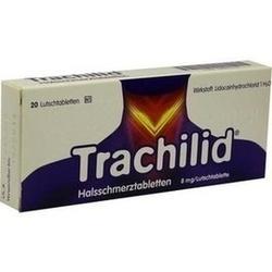 Abbildung von Trachilid Halsschmerztabletten  Lutschtabletten
