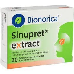 Abbildung von Sinupret Extract  Tabletten