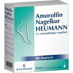 Abbildung von Amorolfin Nagelkur Heumann 5% Wirkstoffh.nagellack  Lösung