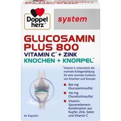 Abbildung von Doppelherz Glucosamin Plus 800 System  Kapseln