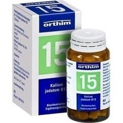 Abbildung von Biochemie Orthim Nr. 15 Kalium Jodatum D12  Tabletten