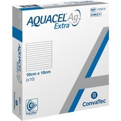 Abbildung von Aquacel Ag Extra 10x10cm  Kompressen