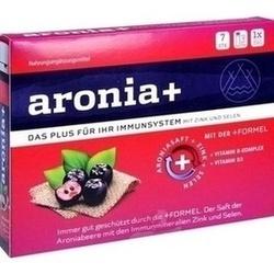 Abbildung von Aronia+ Immun  Trinkampullen
