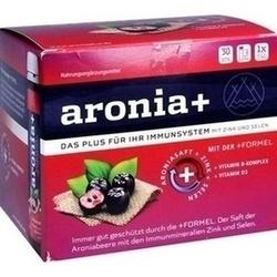 Abbildung von Aronia+ Immun Monatspackung  Trinkampullen