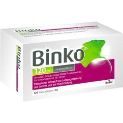 Abbildung von Binko 120 Mg  Filmtabletten