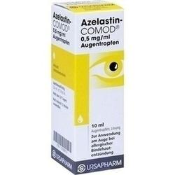 Abbildung von Azelastin-comod 0.5mg Ml  Augentropfen