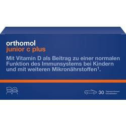 Abbildung von Orthomol Junior C Plus Mandarine Orange  Kautabletten