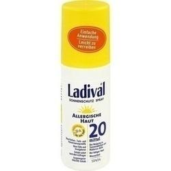 Abbildung von Ladival Allergische Haut Spray Lsf 20