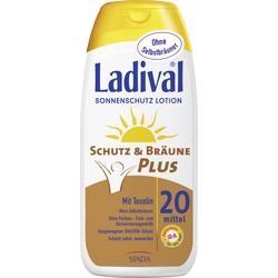 Abbildung von Ladival Schutz&bräune Plus Lsf 20  Lotion