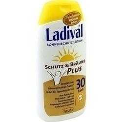 Abbildung von Ladival Schutz&bräune Plus Lsf 30  Lotion