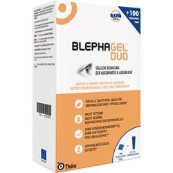 Abbildung von Blephagel Duo 30g + Pads  Kombipackung