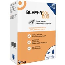 Abbildung von Blephasol Duo 100ml + 100 Reinigungspads  Kombipackung