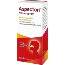 Abbildung von Aspecton Nasenspray (entspricht 1.1% Kochsalz-lös)