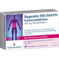 Abbildung von Ibuprofen Heumann Schmerztabl. 400mg  Filmtabletten