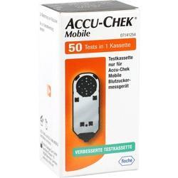 Abbildung von Accu-chek Mobile Testkassette  Teststreifen