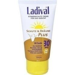 Abbildung von Ladival Schutz&bräune Plus Sonne Gesicht Lsf30  Creme