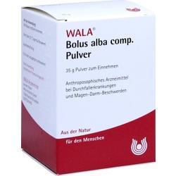 Abbildung von Bolus Alba Comp. Pulver