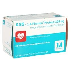 Abbildung von Ass - 1 A Pharma Protect 100 Mg  Tabletten