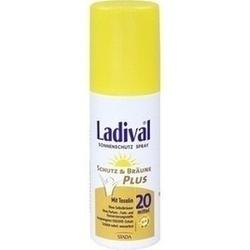 Abbildung von Ladival Schutz&bräune Plus Sonnenschu.spray Lsf20