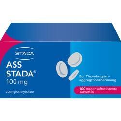 Abbildung von Ass Stada 100mg Magensaftresistente Tabletten