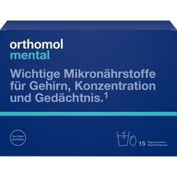 Abbildung von Orthomol Mental Granulat+kapseln 15 Tagesportionen  Kombipackung