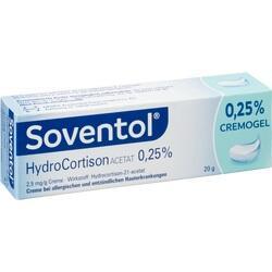 Abbildung von Soventol Hydrocortisonacetat 0.25%  Creme