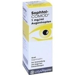 Abbildung von Sophtal-comod 1mg Ml Augentropfen