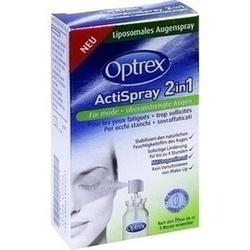 Abbildung von Optrex Actispray 2in1 Müde+überanstrengte Augen