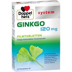Abbildung von Doppelherz Ginkgo 120 Mg System  Filmtabletten
