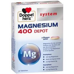 Abbildung von Doppelherz Magnesium 400 Depot System  Tabletten