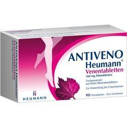 Abbildung von Antiveno Heumann Venentabletten Filmtabletten