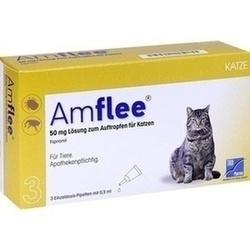 Abbildung von Amflee 50mg Lösung Zum Auftropfen Katzen