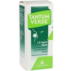 Abbildung von Tantum Verde 1.5mg Ml Spr.z.anwend. I.d. Mundhöhle  Spray