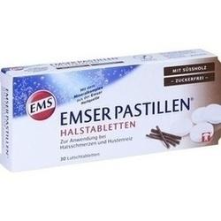 Abbildung von Emser Pastillen Mit Süßholz Zuckerfrei  Lutschtabletten