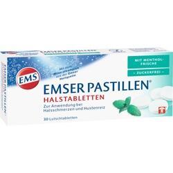 Abbildung von Emser Pastillen Mit Mentholfrische Zuckerfrei  Lutschtabletten