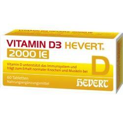 Abbildung von Vitamin D3 Hevert 2000 Ie  Tabletten