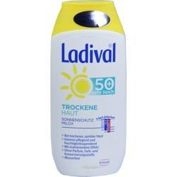 Abbildung von Ladival Trockene Haut Milch Lsf 50+
