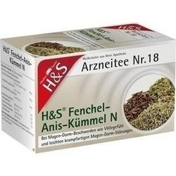 Abbildung von H&s Fenchel-anis-kümmel N  Filterbeutel