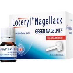Abbildung von Loceryl Nagellack Gegen Nagelpilz Direkt-Applikat.  Naw