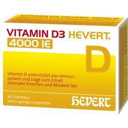 Abbildung von Vitamin D3 Hevert 4000 Ie  Tabletten