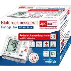 Abbildung von Aponorm Blutdruck Messgerät Mobil Slim Handgelenk
