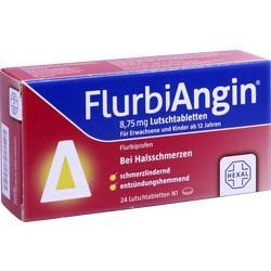 Abbildung von Flurbiangin 8.75mg Lutschtabletten