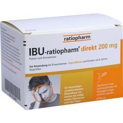 Abbildung von Ibu-ratiopharm Direkt 200 Mg Pulver Zum Einnehmen