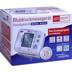 Abbildung von Aponorm Blutdruck Messgerät Mobil Basis Handgelenk