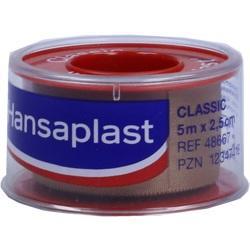 Abbildung von Hansaplast Fixierpflaster Classic 5mx2.5cm Schub