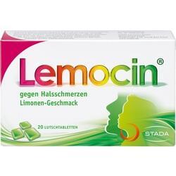 Abbildung von Lemocin Gegen Halsschmerzen  Lutschtabletten