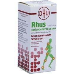 Abbildung von Rhus Tox. D6 Dhu Bei Rheumatischen Schmerzen  Tabletten